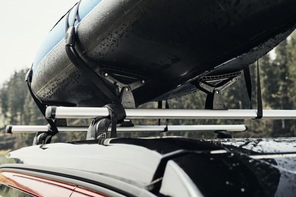 CROSSCAMP Kayak- und Surfboardträger für Dachträger System für Kayaks und Surfboards bis 90 cm Breit