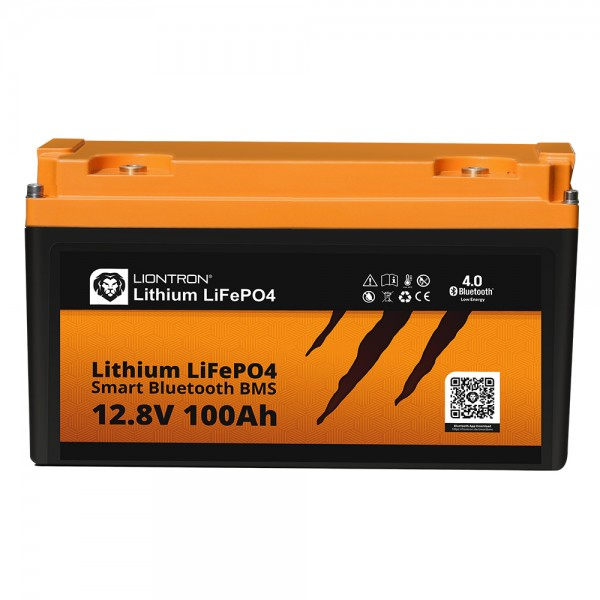 Liontron Lithium Batterie LiFePO4 LX Smart BMS 12,8V 100Ah