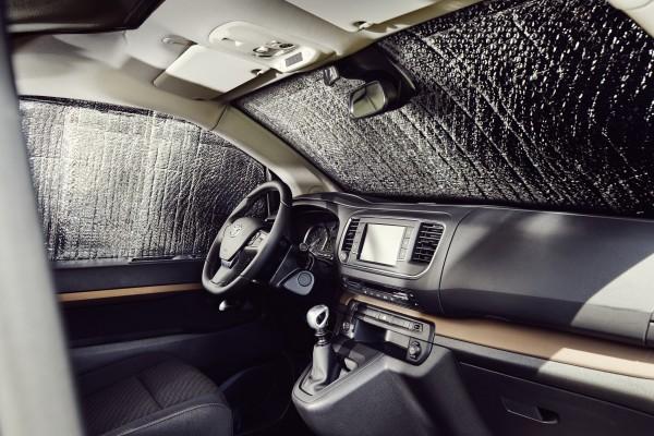 CROSSCAMP Innenraumverdunklung 3-tlg für Front-, Fahrer- u.Beifahrerscheibe
