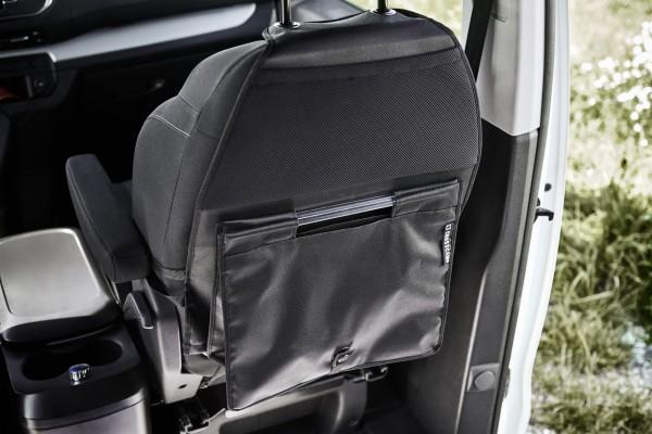 CROSSCAMP Rückenlehnentasche für Beifahrerseite inkl. abnehmbarer Einkaufstasche mit Fidlocks befest