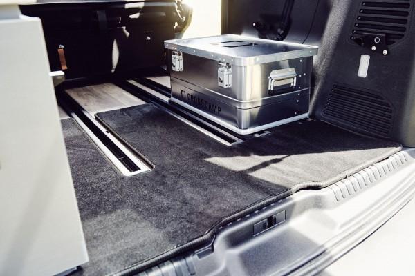 CROSSCAMP Fußmatten Kofferraumteppich mit Antirutschwirkung