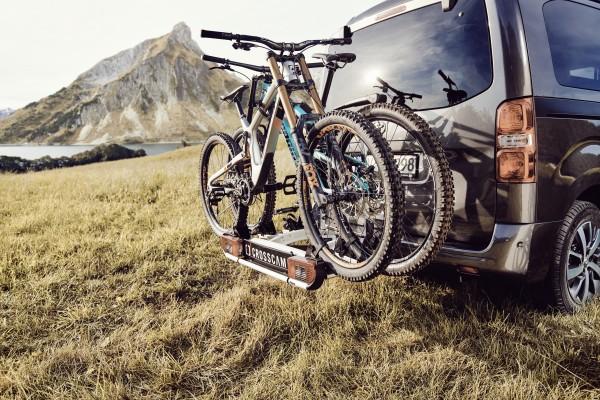 CROSSCAMP Fahrradträger für Anhängerkupplung für 3 Fahrräder