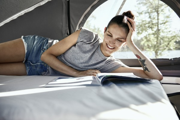 CROSSCAMP Spannbettlaken für Bett oben